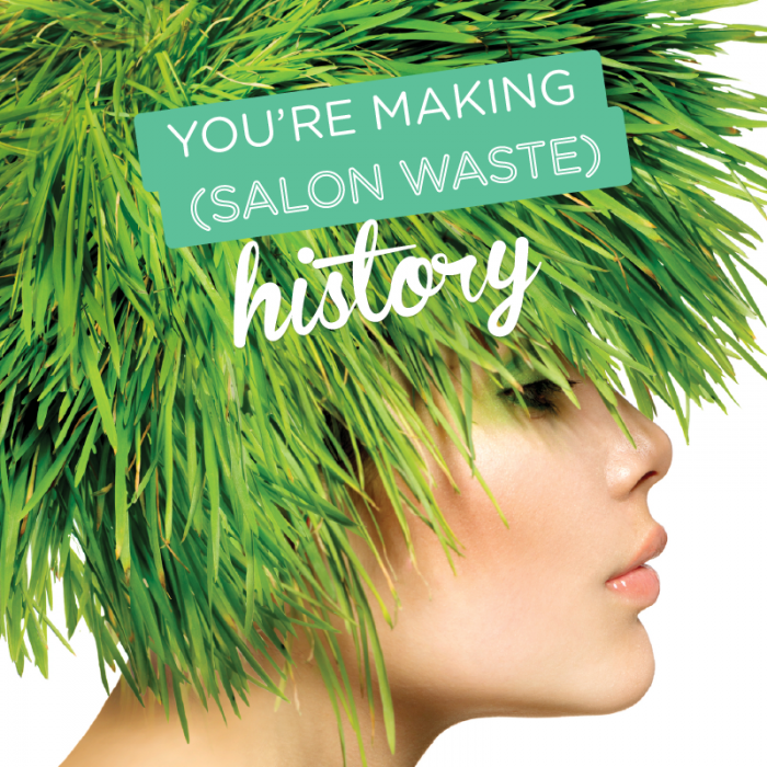 We are proud to be a Sustainable Salon…..